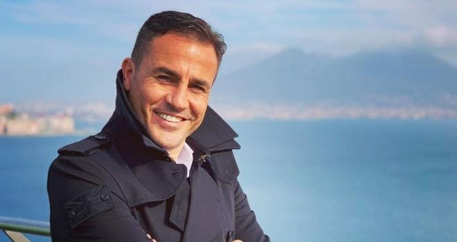 Fabio Cannavaro nella sua Napoli