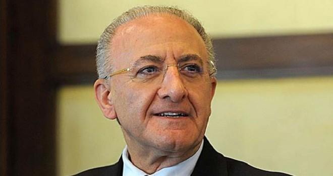 Il Pres. V. De Luca, Regione Campania