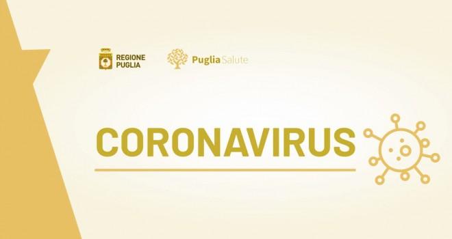 Coronavirus Puglia 17 maggio