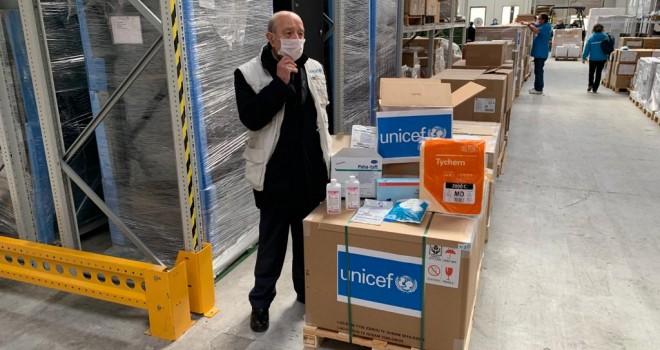 UNICEF-Coronavirus, è arrivato in Italia una secondo carico di aiuti