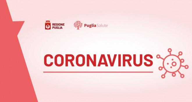 Coronavirus Puglia: per la prima volta 0 nuovi casi. Bollettino 10/06