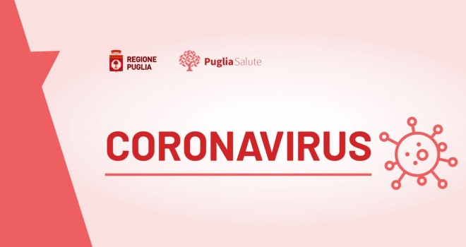 Coronavirus Puglia 13 maggio