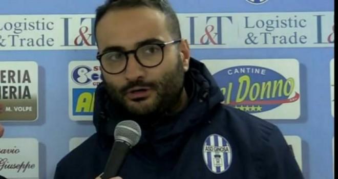 Mister Vincenzo Pizzulli, Ginosa calcio