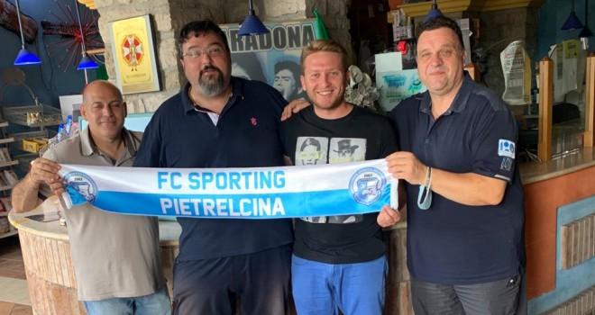 Forgione e la dirigenza Sp. Pietrelcina