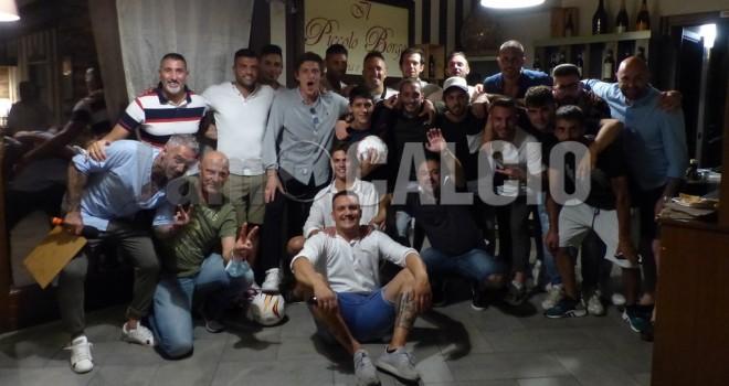 Foto di gruppo per il nuovo Borgo Ticino