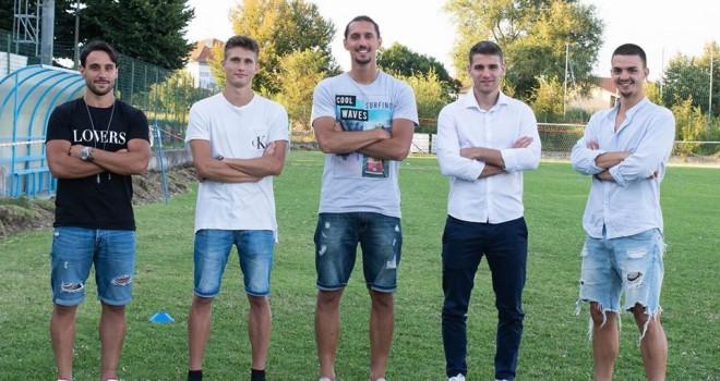 I cinque nuovi arrivi del RG Ticino
