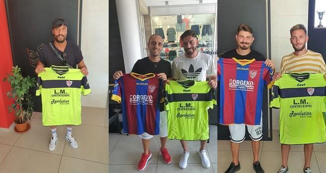 I cinque nuovi acquisti del S. Andrea