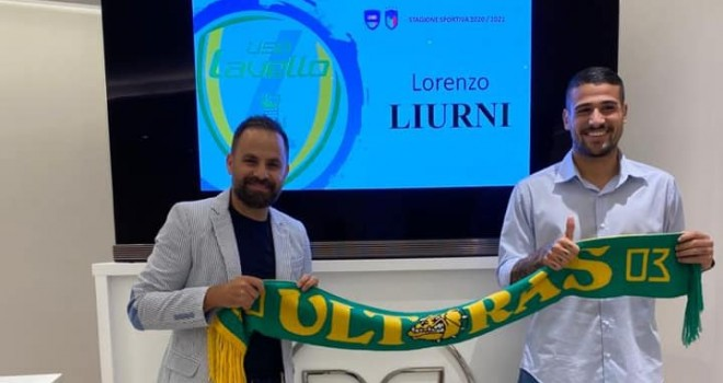 Lorenzo Liurni con il ds Roma