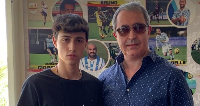 Il giovane Mario Antonaci