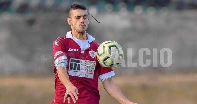 Demetrio Lipari con la maglia del Domo