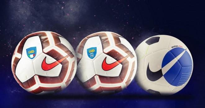 Nuovi palloni Nike per Serie D e LND
