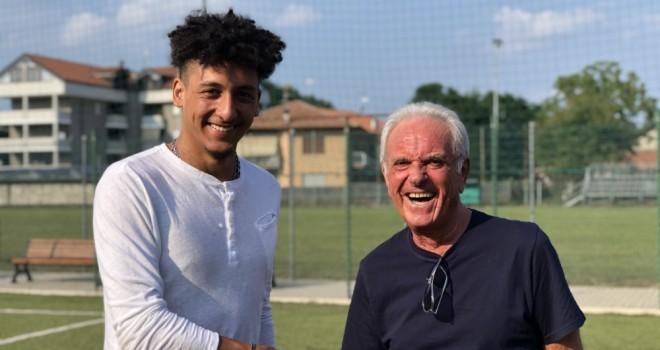 Cavaliere con Gino Turconi