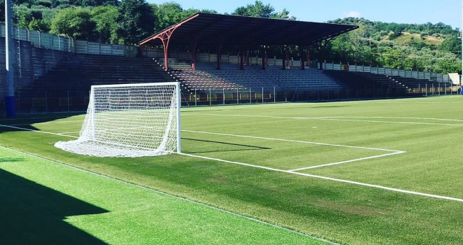 Il nuovo stadio Antonio Martorano