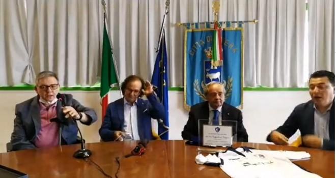 La conferenza stampa di Matera