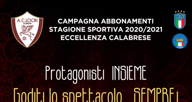 Campagna abbonamenti AC Locri