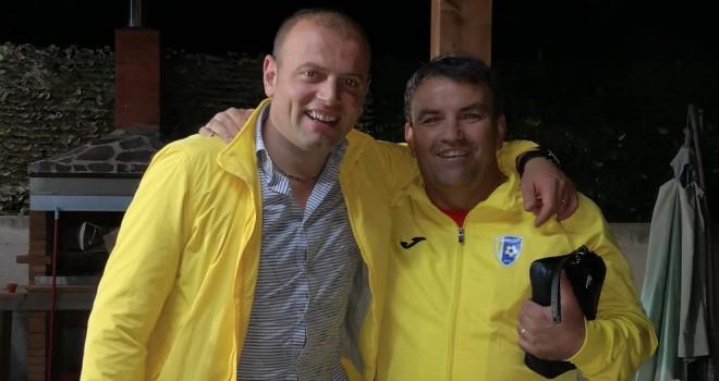 Federico Azzato con Natiello
