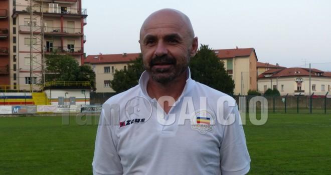 Il tecnico del Verbania, Luca Porcu