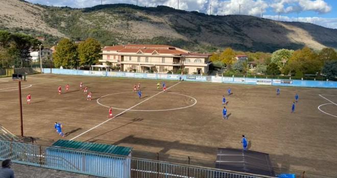 Durazzano-Cervino: l'arbitro sospende il match durante il recupero