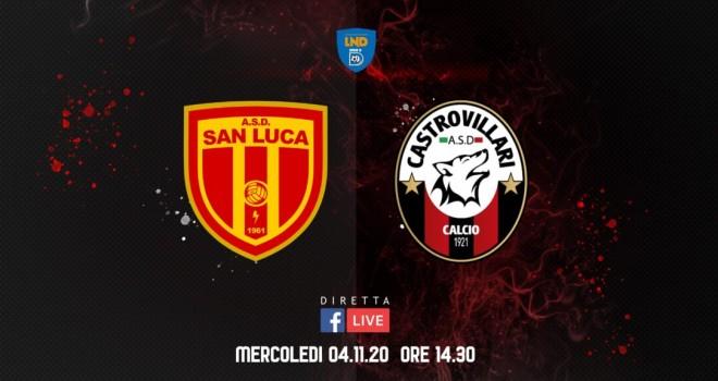 San Luca-Castro mercoledì 4 novembre