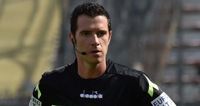 L'arbitro Davide Ghersini