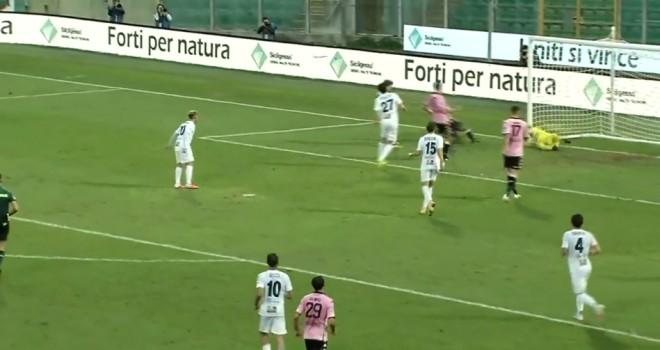 Il gol partita di Luperini