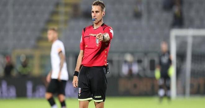 L'arbitro Francesco Fourneau