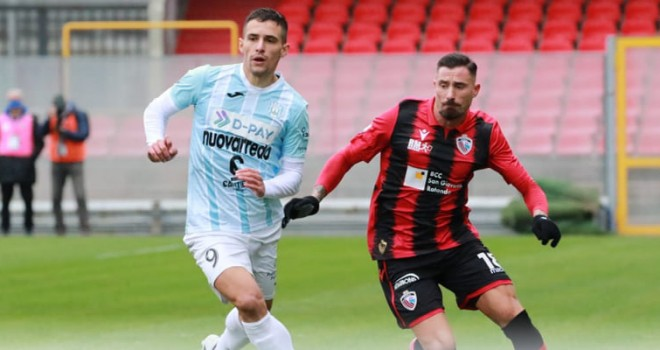 Il Foggia soffre ma vince: 0-1 alla Viterbese, decide Rocca