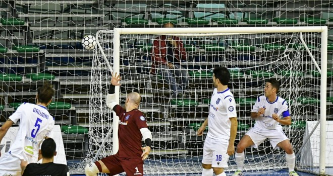 Il CMB Matera dura solo un tempo: Sandro Abate Avellino vince 4-3