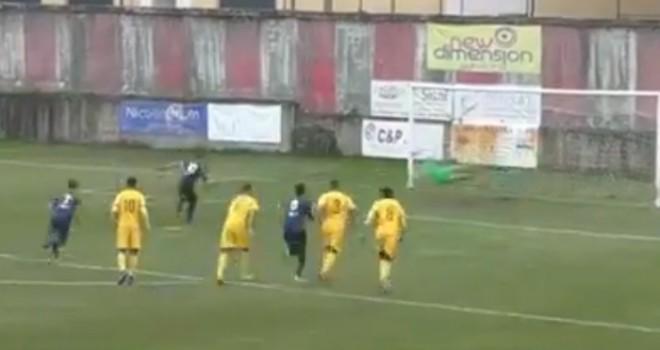 Il rigore di Nolè del momentaneo 1-0
