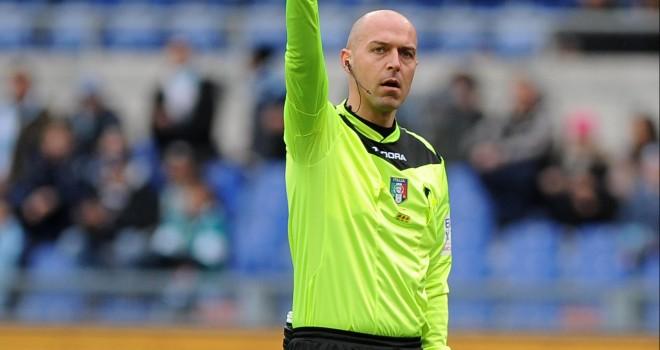 L'arbitro Luca Pairetto
