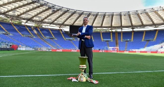 Il Pres. P. Del Pino, Lega Serie A