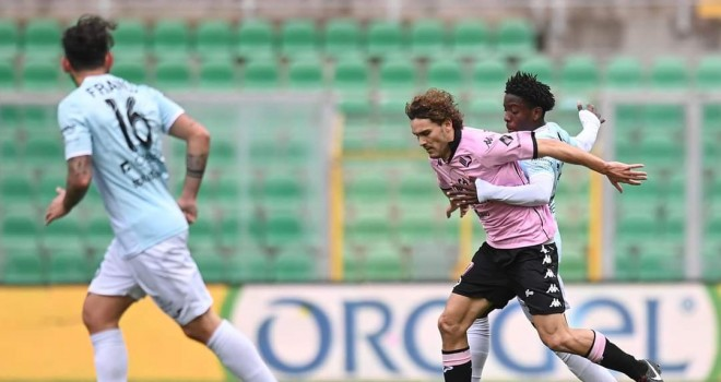 "Impresa Virtus Francavilla al ""Barbera"": battuto il Palermo 1-2"