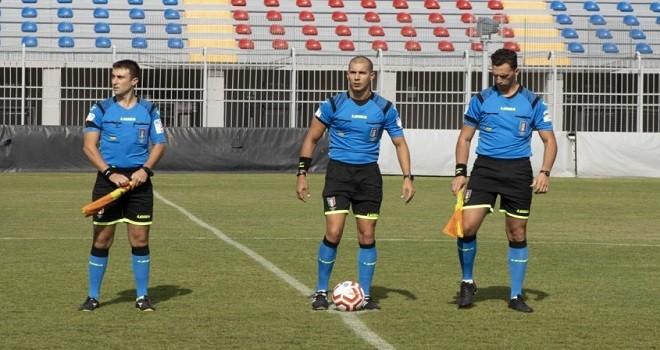 Serie D-Girone F, mercoledì si giocano quattro recuperi: gli arbitri