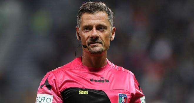 L'arbitro P. Giacomelli
