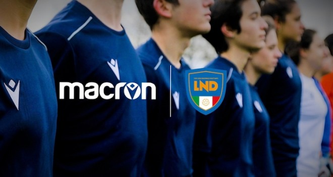 """""""Uniti per ripartire"""": LND e Macron donano kit gara alle società"""