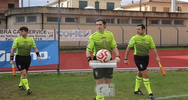 Gianquinto dirige Tolentino-Campobasso