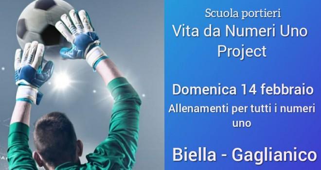 """Scuola Portieri - """"Vita da numeri uno"""" torna a Biella il 14 Febbraio"""