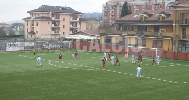Borgosesia-Sanremese 1-1, punto sofferto per i granata