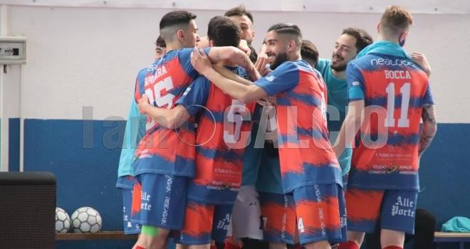 Esultanza al gol, ph Savino