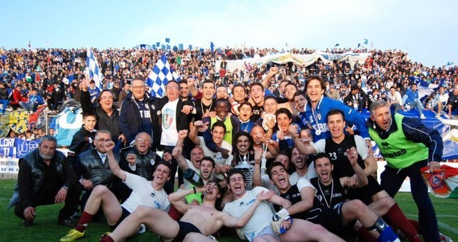Festa Coppa Italia, ph Veglia