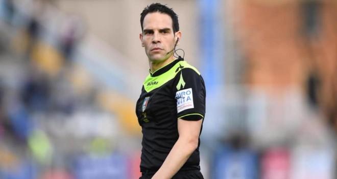 L'arbitro Valerio Marini