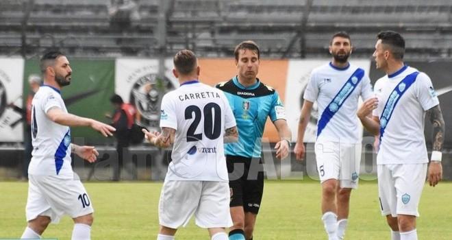 Bufera sul mondo arbitrale: nominato anche l'arbitro di Venezia-Matera