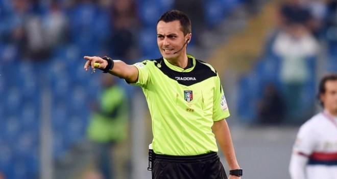 L'arbitro Marco Di Bello