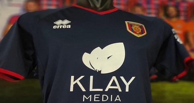 Klay Media nuovo sponsor per i rossoblù