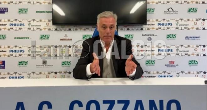 Il presidente del Gozzano, Leonardi