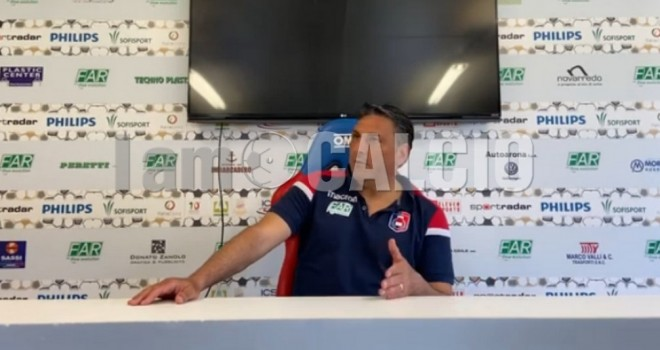Antonio Soda, tecnico del Gozzano