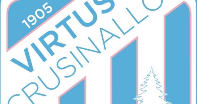 Virtus Crusinallo 1905 approda in terza categoria