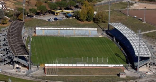 Lo stadio Manlio Scopigno di Rieti