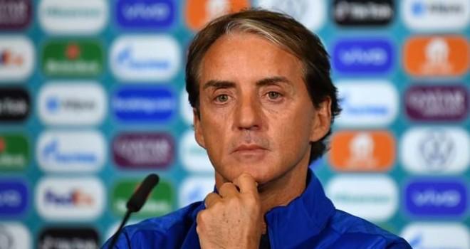 Il C.t. Roberto Mancini