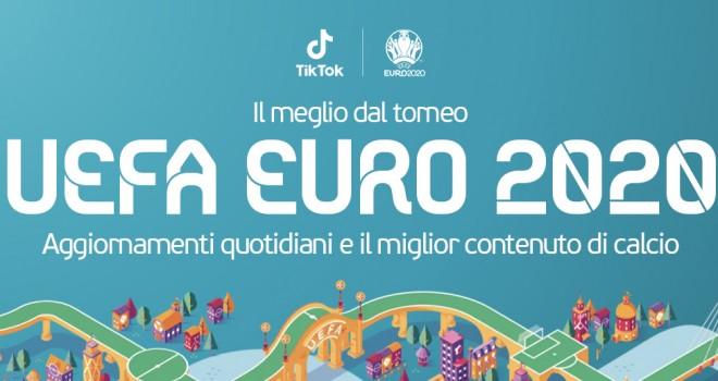 TikTok per Euro 2020